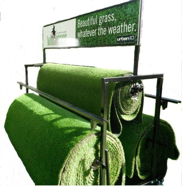 Artificial Grass Stand Grass Display Stand Sample Stand