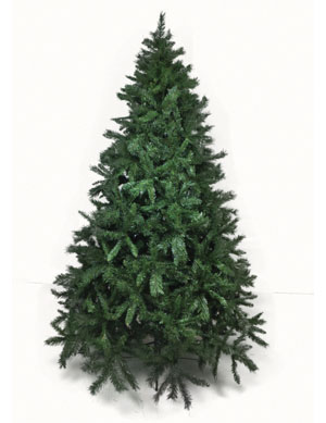 Artificial Spruce Fir Christmas tree