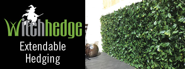 Witchhedge Ectendable artificial hedgeing