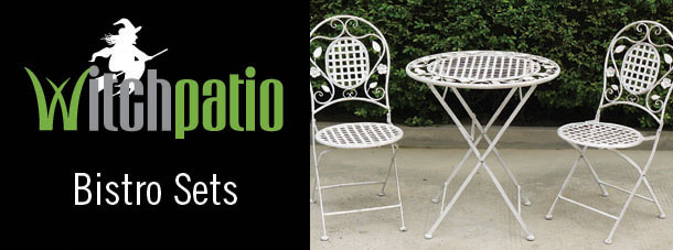 witch patio garden furniture bistro sets