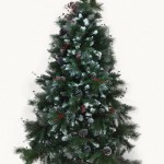 Snow Dust Pine & Berry Artificial Tree
